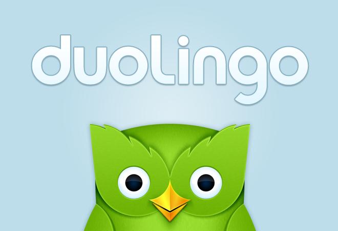 افضل تتطبيق لتعلم اللغة الانجليزية Duolingo
