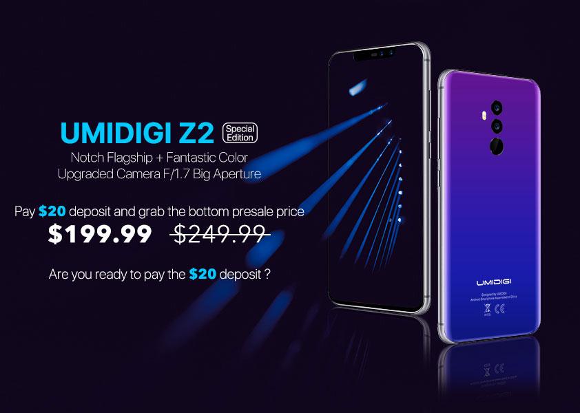 تعرف علي هاتف UMIDIGI Z2 Speicial Edtion الجديد